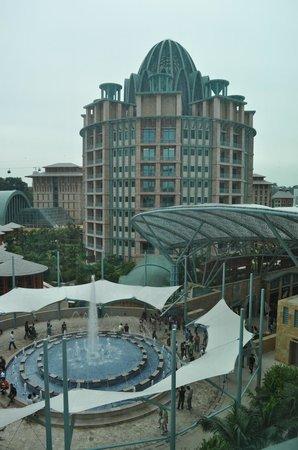 Resorts World Sentosa - Hotel Michael:                   View from room