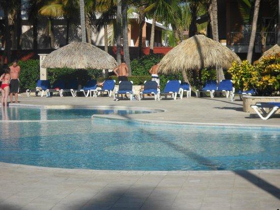 Grand Palladium Palace Resort Spa & Casino:                   piscine de l'hotel