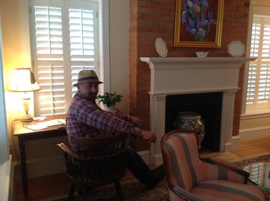 Embassy Circle Guest House:                   the night we arrived                 