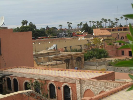 Les Jardins de Bala:                                     View from the rooftop Indian restaurant