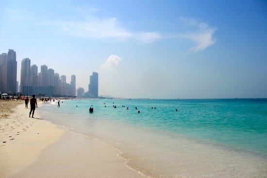Grosvenor House Dubai: Beach at Grand Meridien