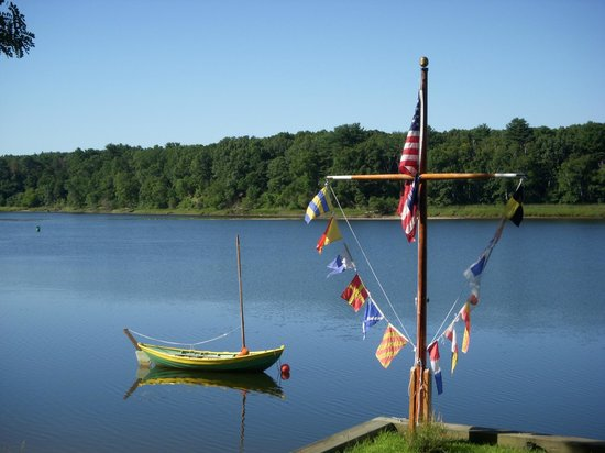 Lowell's Boat Shop: Boat on the water