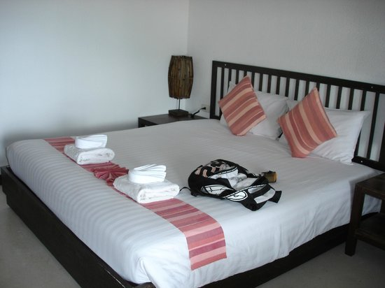 First Bungalow Beach Resort:                   room