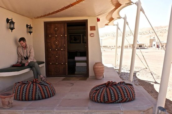 Desert Nights Camp: Outside Space