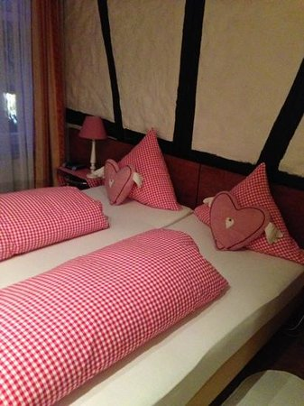 Hotel Alte Laterne:                   beds