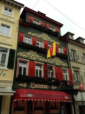 Hotel Alte Laterne:                   very German looking