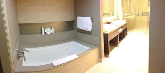 Grand Hyatt Tampa Bay: Bathroom in Suite #1210