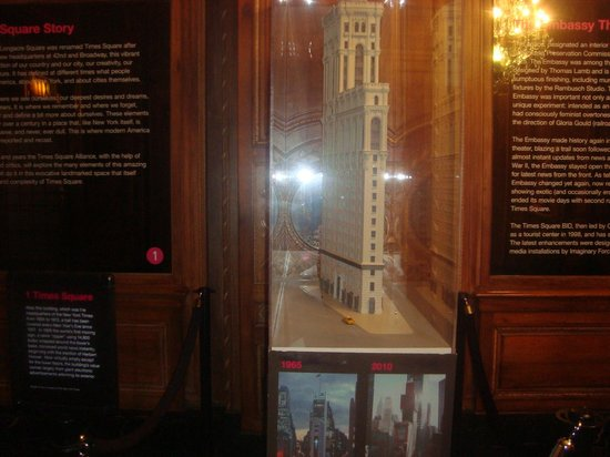 Times Square Museum and Visitor Center: Maqueta Times Square