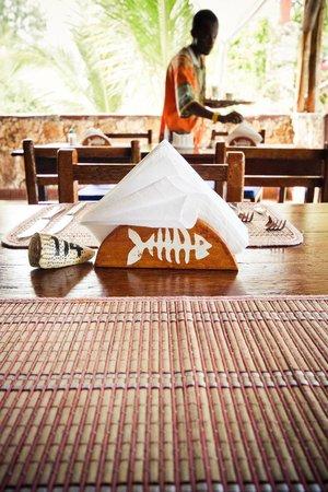 Samaki Lodge & Spa:                   Il ristorante                 