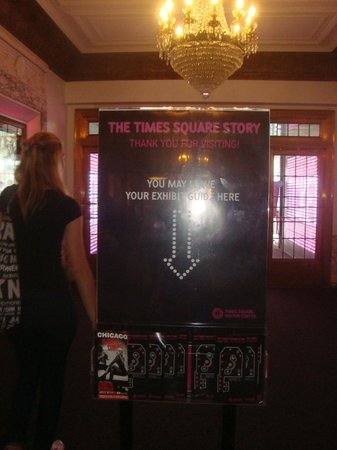 Times Square Museum and Visitor Center: TS