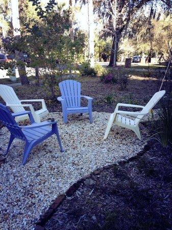 Adora Inn:                                     Garden