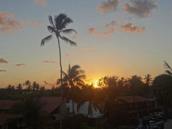Pousada Sao Jorge:                   Por do sol, vista da varanda