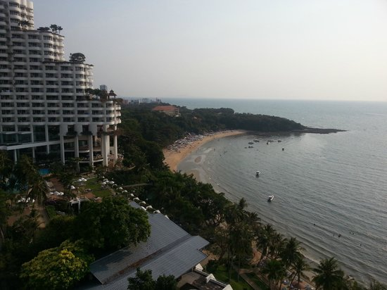 Royal Cliff Grand Hotel:                   View from the room
