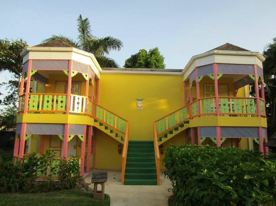 Grand Pineapple Beach Negril:                   My building