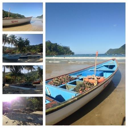Maracas Bay: The boats.