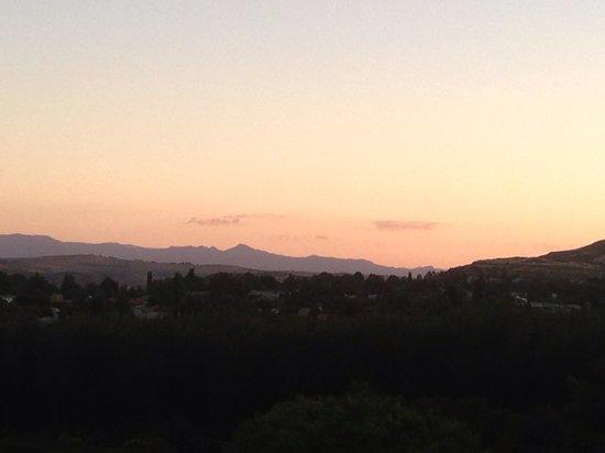 Maluti Mountain Lodge:                                     Sunset