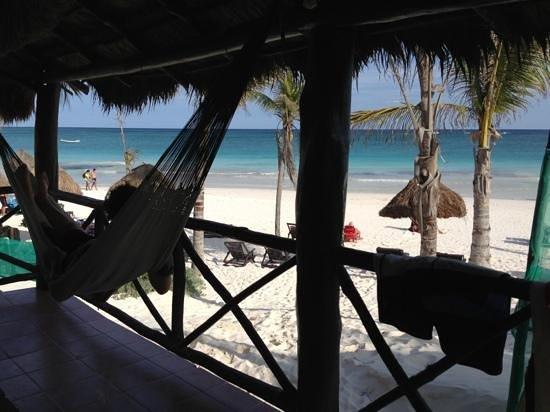 Poc-na Tulum:                                     cabana 3
