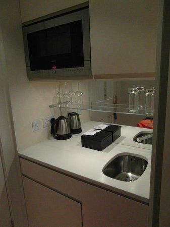 فريزر سويتس إدنبره: Junior Suite Kitchen 605