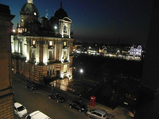 Fraser Suites Edinburgh: View from Junior Suite 605