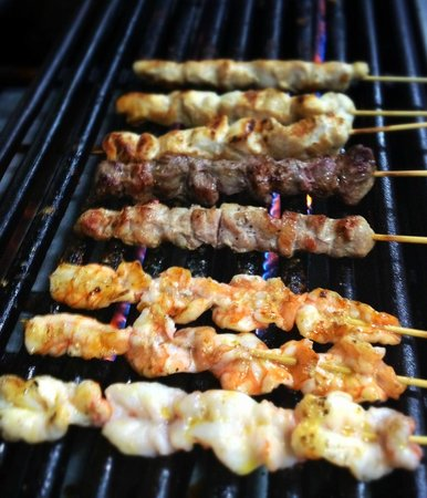 BRO chetas: Grilled to perfection.
