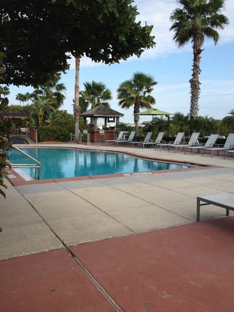 Grand Hyatt Tampa Bay:                   The pool by the casitas - right next to the private beach and Oystercatchers