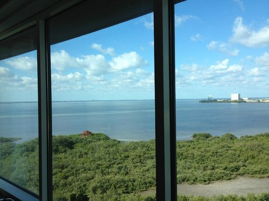 Grand Hyatt Tampa Bay:                   Full view of bay from the room