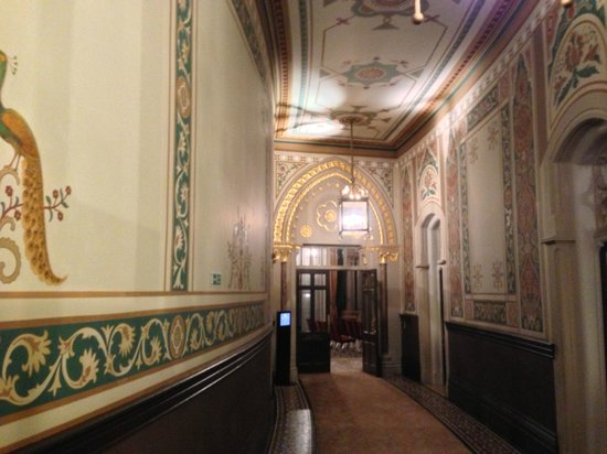 St. Pancras Renaissance Hotel London:                   One of the restored original corridors