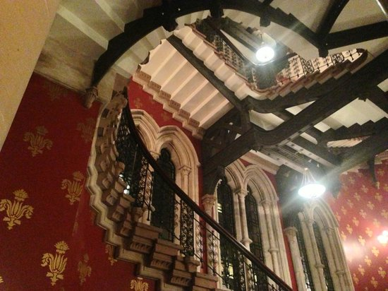 St. Pancras Renaissance Hotel London:                   The grand staircase: as seen in Batman Returns, Harry Potter and many more...