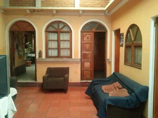 Hostal don Diego: Living Room