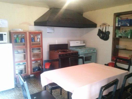Hostal don Diego: Kitchen