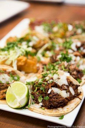 Tacolicious:                                     Tacos