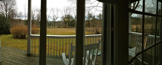 Fairville Inn Bed and Breakfast : THE PANORAMA VIEW FROM OUR SUITE