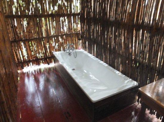 Lake Kitandara Tented Camp:                   bathroom