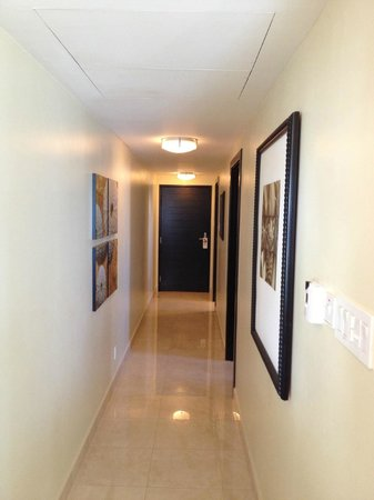 Ocean Two Resort & Residences:                   Hallway in our room