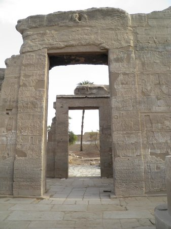Temple of Toud:                                     Temple of Montu in Toud (Tod)