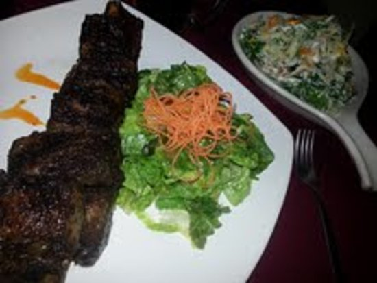 Buffalo BBQ:                   Great Beef Ribs - huge!