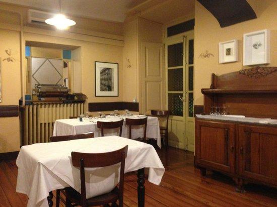 Albergo San Giors :                                     dinning room san giros