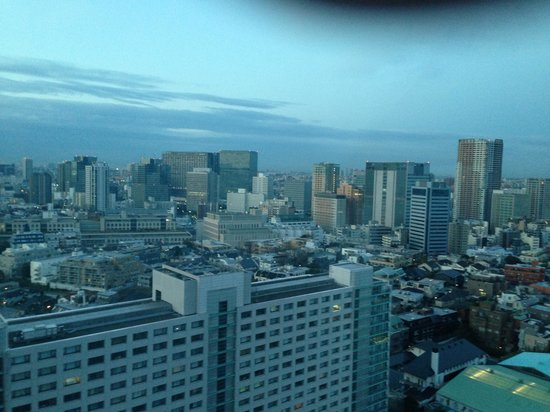 Shinagawa Prince Hotel Tokyo:                   View from my room in the annex tower