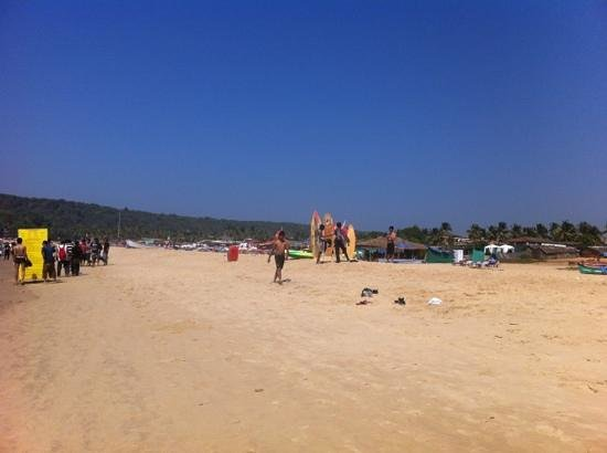 Colonia Santa Maria (CSM): Baga beach.
