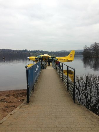 Cameron House on Loch Lomond:                   Seaplane for hire