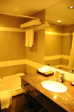 Majestic Grande Hotel:                   Bathroom