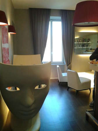 Fabio Massimo Design Hotel: Breakfast area