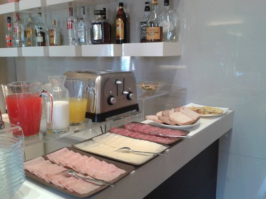 Fabio Massimo Design Hotel: Breakfast