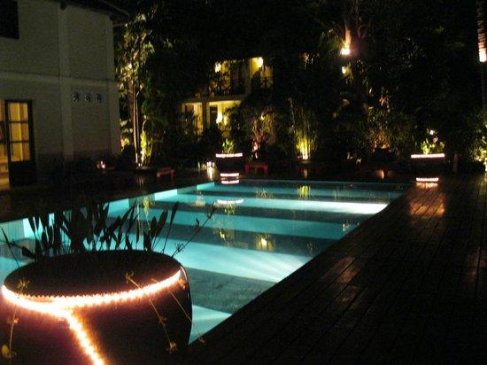 Villa Maly Boutique Hotel: Poolanlage