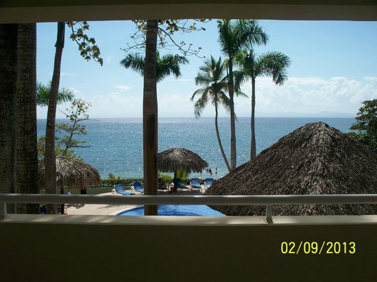Grand Bahia Principe Cayacoa:                   Balcony view from room