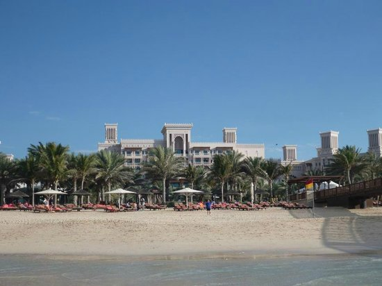 Jumeirah Al Qasr at Madinat Jumeirah: View of Al Qasr from the beach