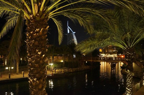 Jumeirah Al Qasr at Madinat Jumeirah: View from Al Hambra