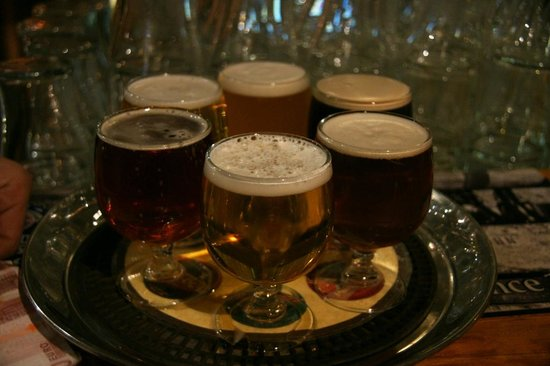 Franciscan Well Brewery: The flight of beer