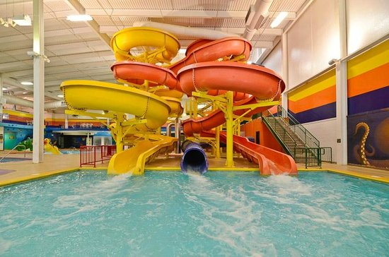 Sleep Inn Minot: Water Slides