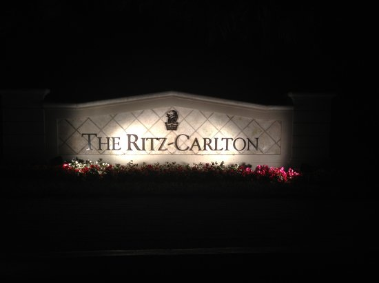 The Ritz-Carlton Key Biscayne, Miami:                   The entrance